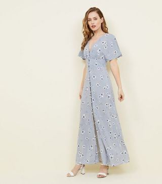 pale-blue-floral-button-front-maxi-dress